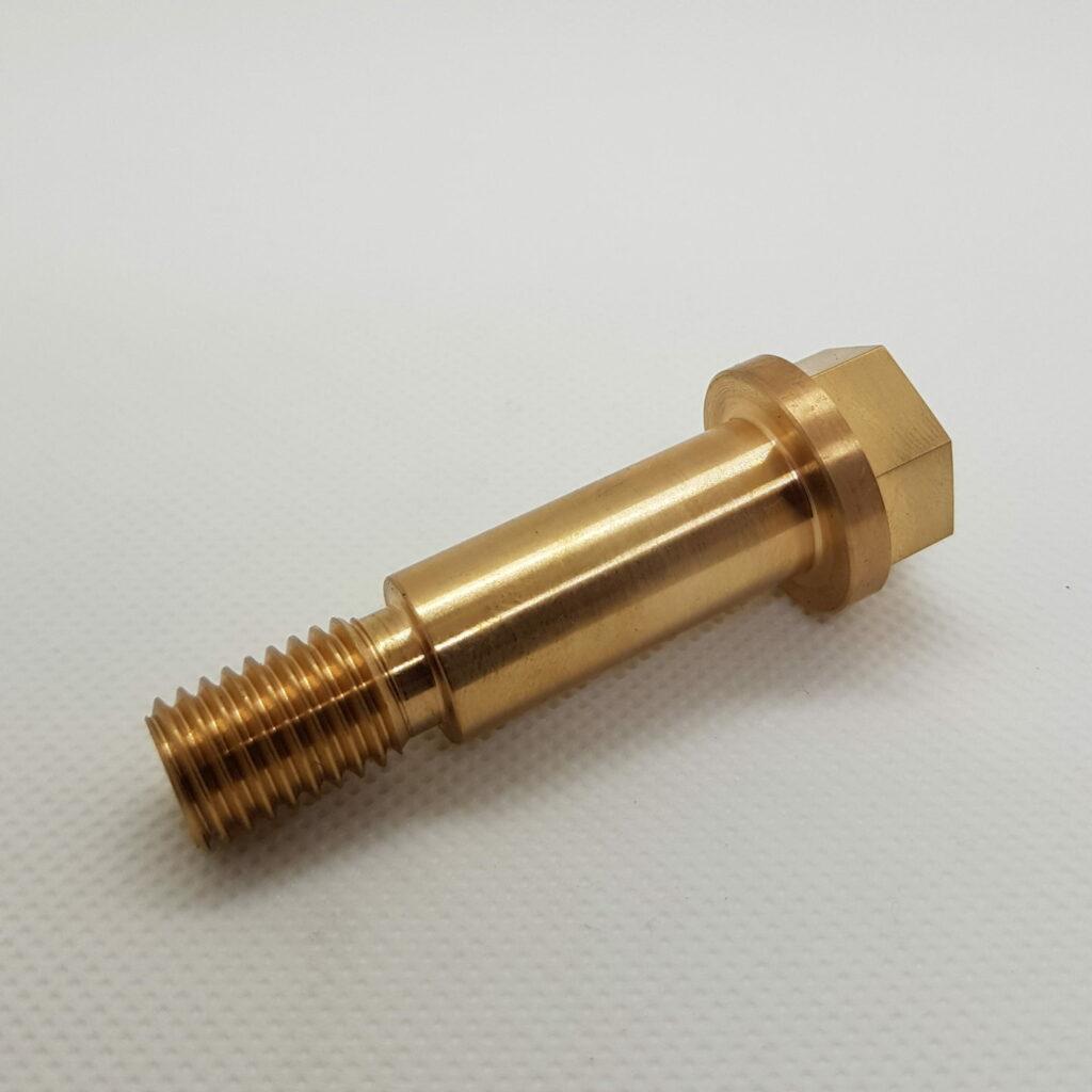 Bronze Schraube